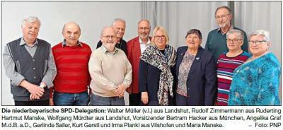 Vorschaubild zur Meldung: Vilshofener Gerlinde Saller bleibt Vize