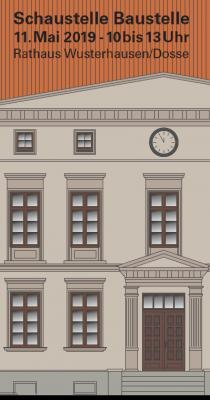 Vorschaubild zur Meldung: Rathausbaustelle öffnete zum Tag der Städtebauförderung