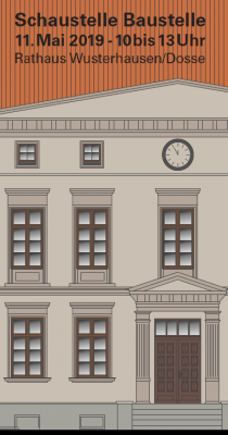 Vorschaubild zur Meldung: Rathausbaustelle öffnet zum Tag der Städtebauförderung