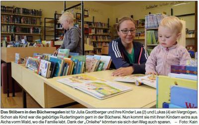 Vorschaubild zur Meldung: Virtuelle Bücherei ist komplett