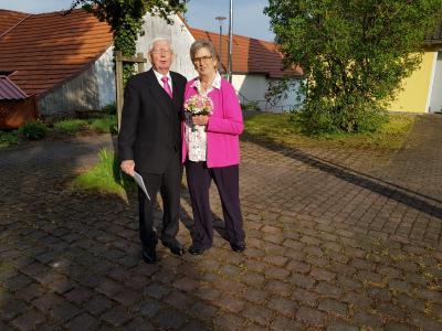 Foto zur Meldung: Goldene Hochzeit Inge und Heinrich Klee