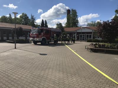 Vorschaubild zur Meldung: Evakuierungsübung