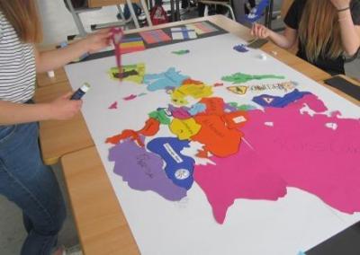 Foto zur Meldung: Projekttag Europa und EU