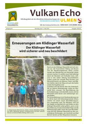 Vorschaubild zur Meldung: Wanderwege Wasserfall