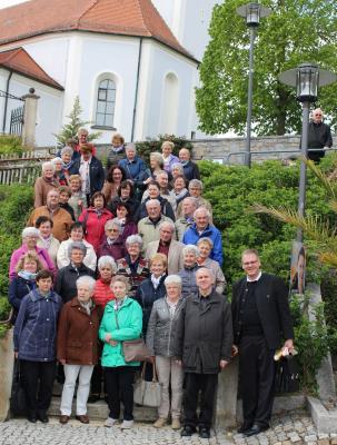 Foto zur Meldung: Ausflug der Senioren aus Moosbach Opf. nach Moosbach Ndb.