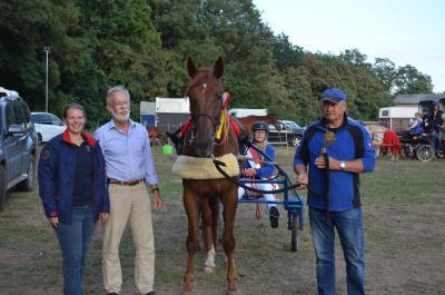 Foto zur Meldung: Landesmeisterschaften im Distanzreiten und -fahren in der Gemeinde Wusterhausen/Dosse