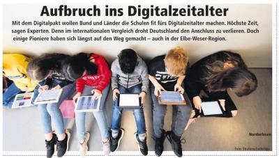 Vorschaubild zur Meldung: Das digitale Klassenzimmer