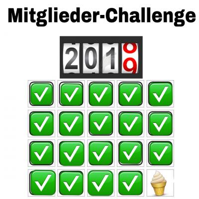 Förderverein-Mitglieder-Challenge erfolgreich