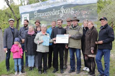 """Foto zur Meldung: Lottomittelübergabe an Heimatverein Gräfenroda e.V. und den """"Grawereder Jong"""""""