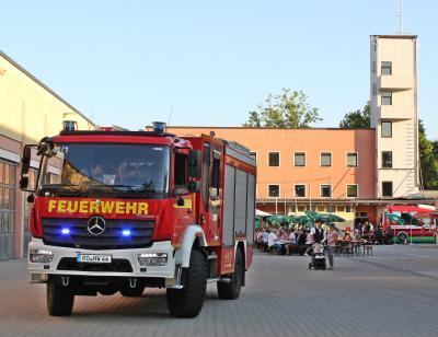 Vorschaubild zur Meldung: Sommerfest 2019 bei der Freiwilligen Feuerwehr Rosenheim