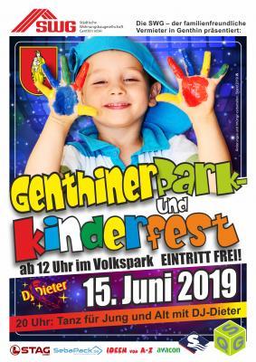 Vorschaubild zur Meldung: Genthiner Park- und Kinderfest im Volkspark
