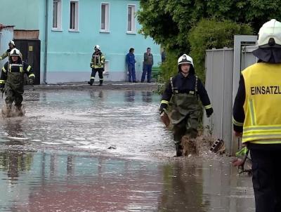 Foto zur Meldung: Starkregen: Wassermassen überfluten Bördeland