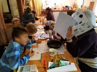Foto zur Meldung: Fontane im Schlafrock - ein Kinder-Kochbuch