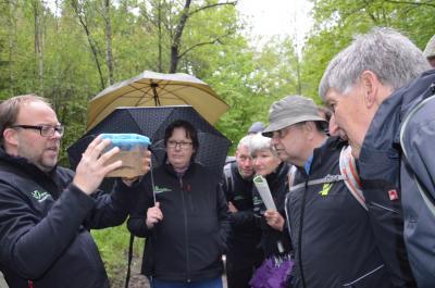 """Vorschaubild zur Meldung: Crashkurs """"Natur für Naturparkführer"""" mit Dr. Carsten Nowak"""