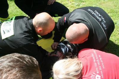 Foto zur Meldung: Deutsch-polnische Feuerwehr-Partnerschaft