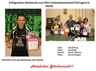Mini-Verbandsentscheid Thüringen