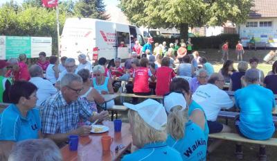 Über 180 Wanderer und Walker waren im vergangenen Jahr in Mackensen dabei.