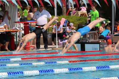 Foto zur Meldung: Pokalschwimmfest in Schwandorf