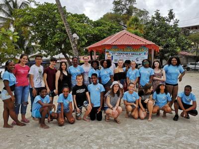 Foto zur Meldung: Mit Erasmus+ in die Karibik