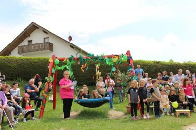 Vorschaubild zur Meldung: Sommerfest im Kindergarten