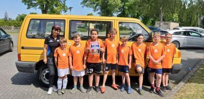 Foto zur Meldung: Bad Wilsnacker Elbtalgrundschüler erkämpften sich den 3. Platz beim Fußballturnier in Havelberg am 24.05.19