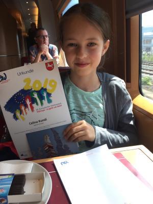 Foto zur Meldung: OBS Jade gewinnt beim Europäischen Wettbewerb auf Bundesebene