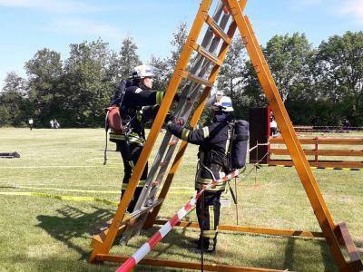 Foto zur Meldung: Ortenberger Mannschaften bei der HFLÜ in Echzell