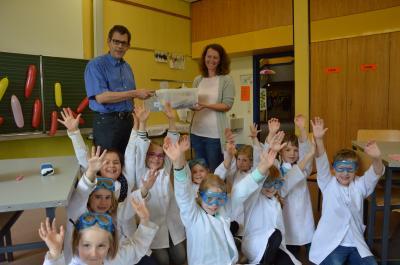 EnBW-EnergieBOX für die Albblickschule in Simmersfeld