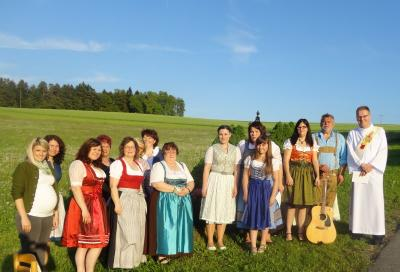 Vorschaubild zur Meldung: Maiandacht in Schwarzendorf