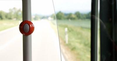 Auf der Fahrt im Bus nach Göppingen