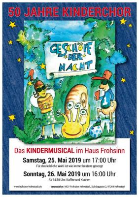 """Foto zur Meldung: Kinderchormusical """"Geschöpf der Nacht"""""""