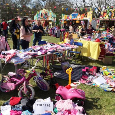 Vorschaubild zur Meldung: Kindertrödelmarkt anlässlich des Genthiner Park- und Kinderfest am 15. Juni 2019  Kinder auf Schnäppchensuche - Anmeldung zum Kindertrödelmarkt