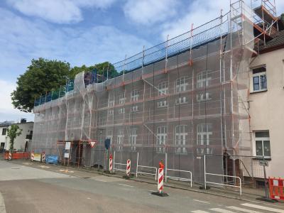 Foto zur Meldung: Bilder von der Sanierung unserer Grundschule (Altbau)