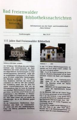 "Foto zur Meldung: Bibliothek ""Hans Keilson"" feiert Jubiläum"