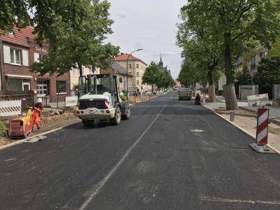 Foto zur Meldung: Hamburger Straße – Beginn des zweiten Bauabschnitts am 4. Juni
