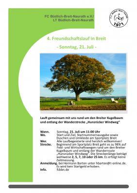 Vorschaubild zur Meldung: 4. Freundschaftslauf in Breit
