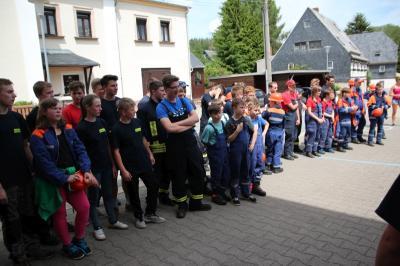 Vorschaubild zur Meldung: 20 Jahre Jugendfeuerwehr in Börnichen