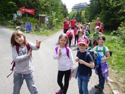 Vorschaubild zur Meldung: Kinder-Wanderausflug ins Zittauer Gebirge