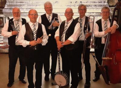 Foto zur Meldung: Dixieland non stop: Jazziger Pfingstsonnabend