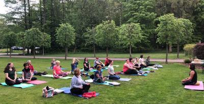 Vorschaubild zur Meldung: Yoga für Jonas im Hainholz Pritzwalk