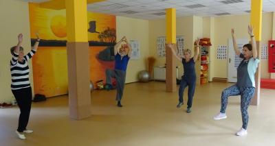 Fitnessgymnastik von 16.30 - 17.30 Uhr mit Bettina