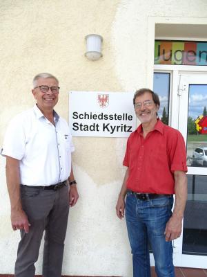 Vorschaubild zur Meldung: Schiedsstelle der Stadt Kyritz teilweise neu besetzt