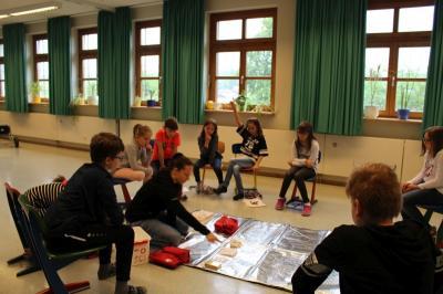 """Foto zur Meldung: In der Grundschule ging es um das Thema """"Sicherheit"""""""