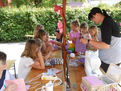 Foto zur Meldung: Präsentationstag in der Elbtalgrundschule