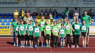 Foto zur Meldung: Leichtathletik-Kreismeisterschaft in Bogen 2019