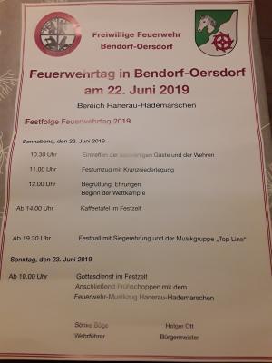 Feuerwehrtag 2019
