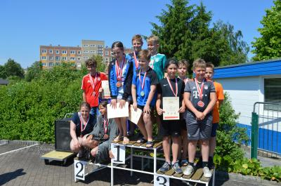 Foto zur Meldung: Jugend trainiert - Schwimmen-