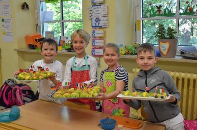 Vorschaubild zur Meldung: Gesundheitswoche in der Gund- und Mittelschule in Sennfeld