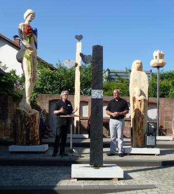 Vorschaubild zur Meldung: 11. Poppenhausener Bildhauertage