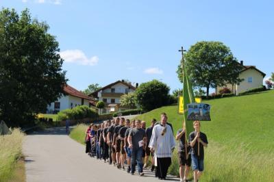 Vorschaubild zur Meldung: Schönwetterbitten für das 55-jährige Gründungsfest der KLJB Moosbach